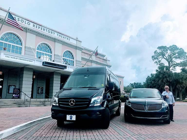 Sarasota Luxury Sedan Limousine Limo Destination Services