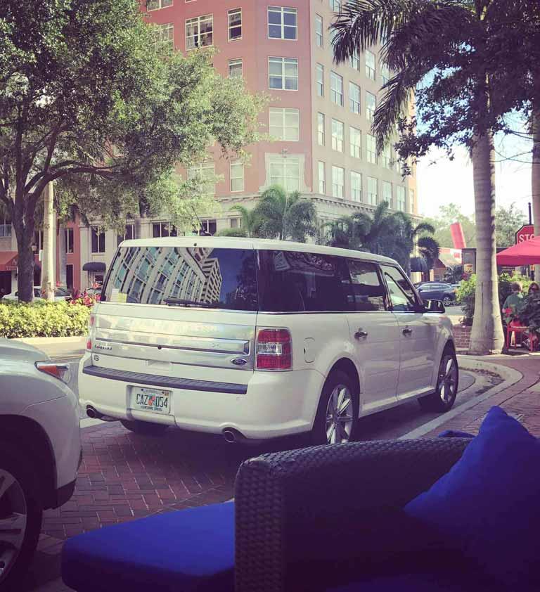 Sarasota Ford Flex Luxury Sedan Limo Destination Transportation