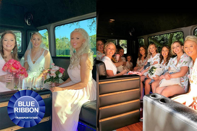 Sarasota Wedding Party Limos
